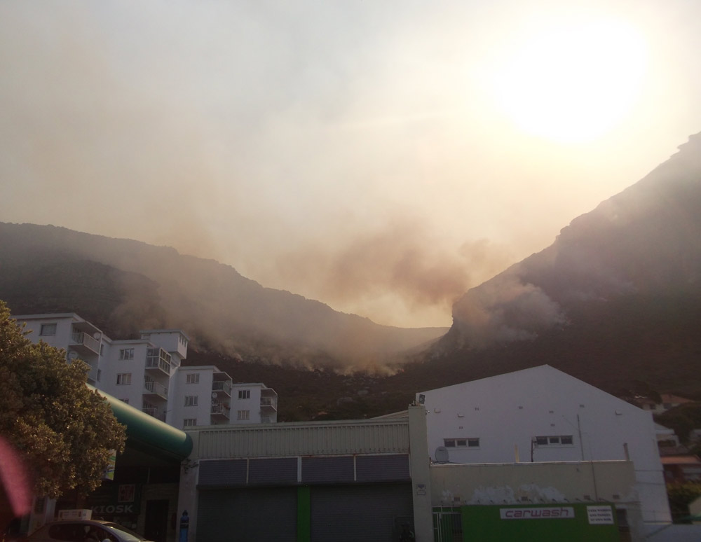 fires in cape town