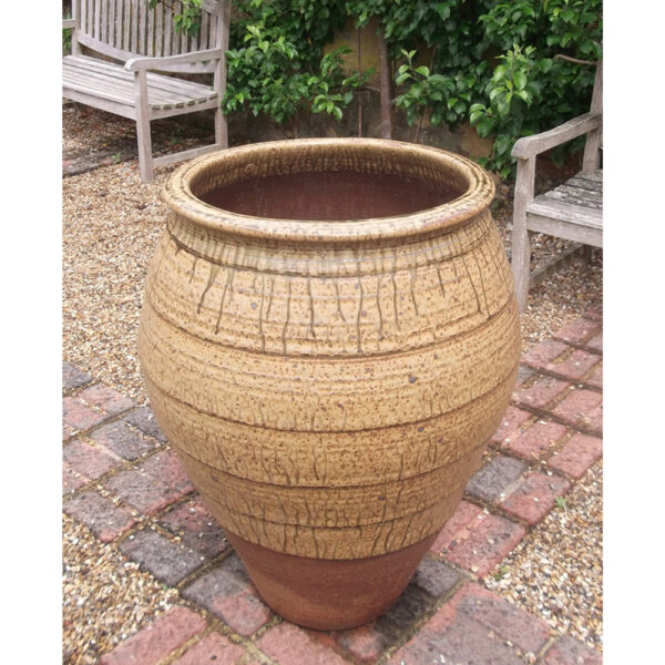 open outdoor pot