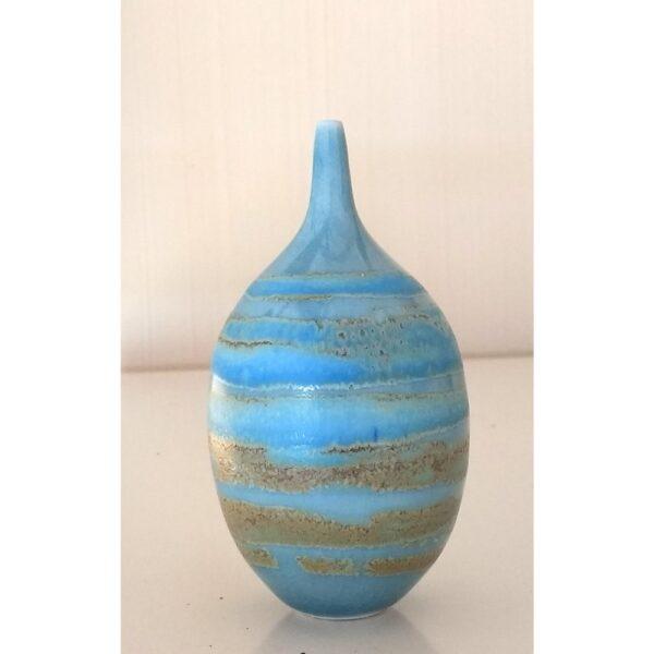 tiny blue bottle