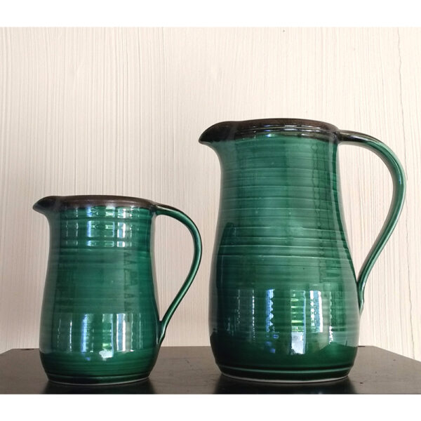 two sizes of jugs