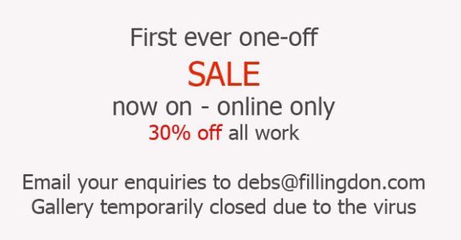 announcing a sale