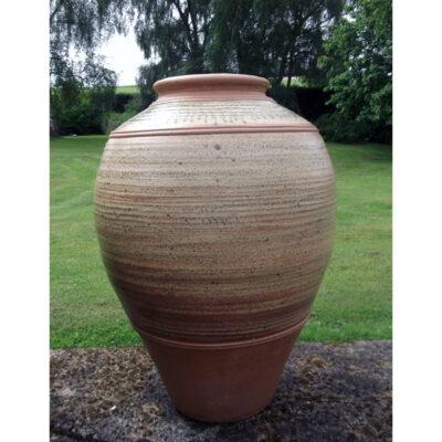 narrow necked jar