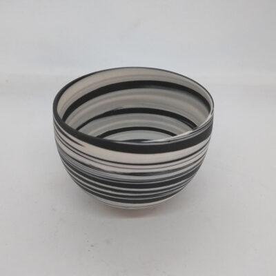 mini striped bowl