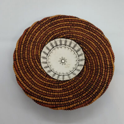small woven plate