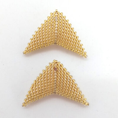 pale gold beads