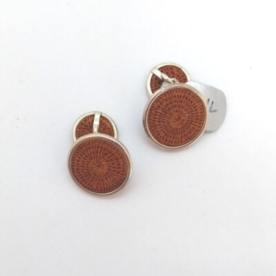 chocolate coloured cufflinkss
